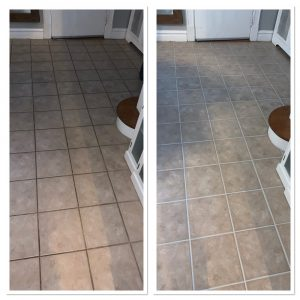 Chesterfield MO grout clean and seal