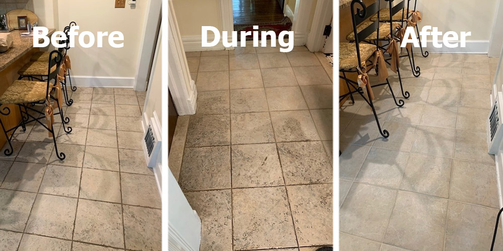 grout cleaning and sealing in Wentzville MO